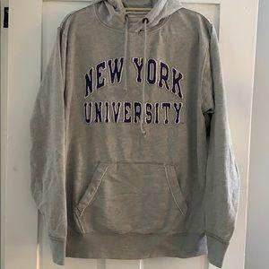 New York University hoodie sweatshirt